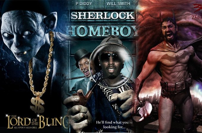 20 Most Hilarious Movie Poster Remakes