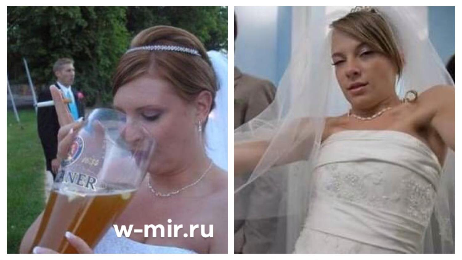 So She Got Drunk On Her Wedding Night