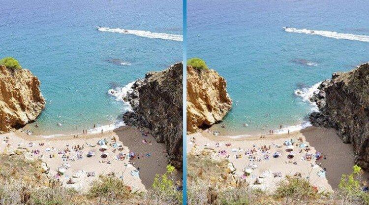 Всего 1% людей может увидеть разницу между этими фото. А у вас получилось?