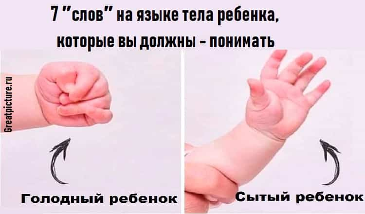 7 ″слов″ на языке тела ребенка, которые вы должны — понимать