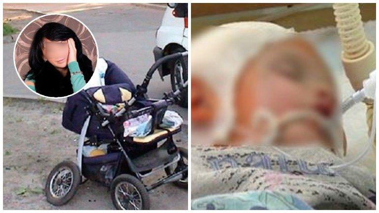 Молодая мать избила младенца и ушла на свидание…