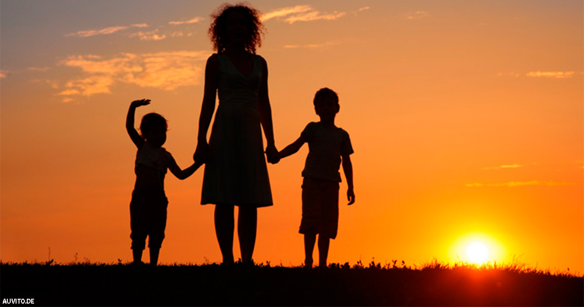 Одинокие мамы воспитывают классных детей - исследования подтверждают