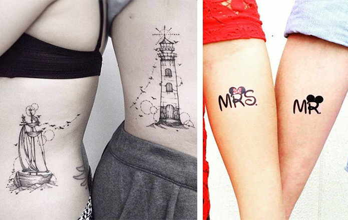 Best Couple Tattoo Designs to protect your love forever