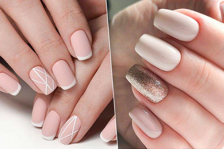 40 светлых вариант красивых ногтей