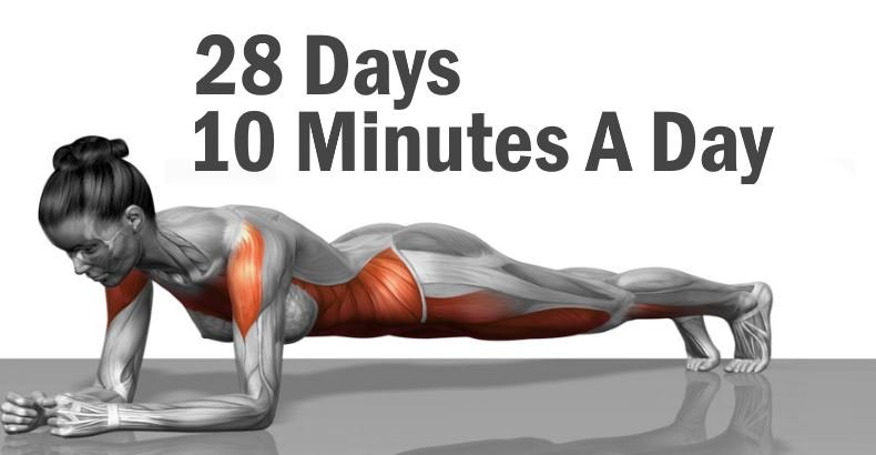 5 Simple Exercises That Will Reshape Your Body in Just 4 Weeks
