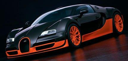 5 cамые быстрые автомобили в мире