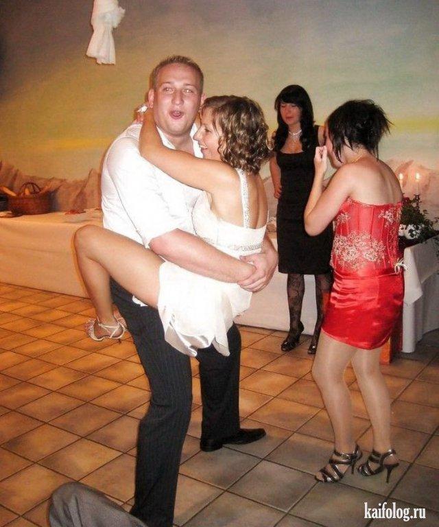 Нелепые свадебные фото