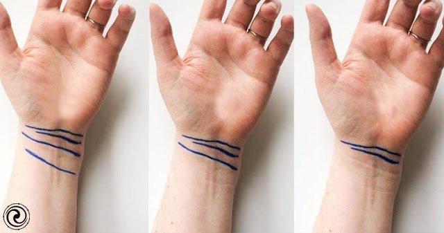 Проверьте, есть ли у вас редко встречающиеся линии на запястье!