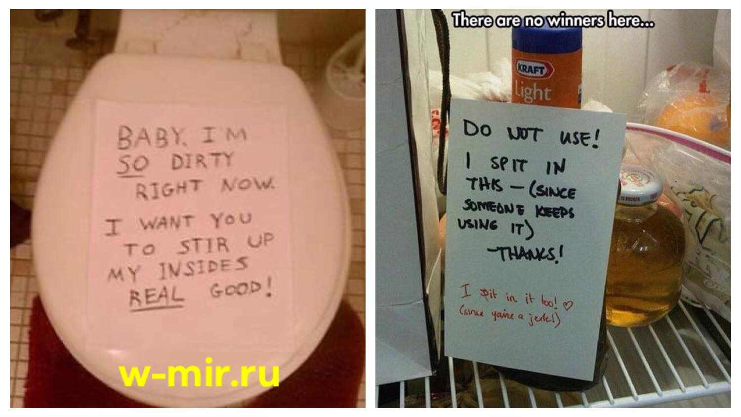 The Most Hilarious Roommate Notes