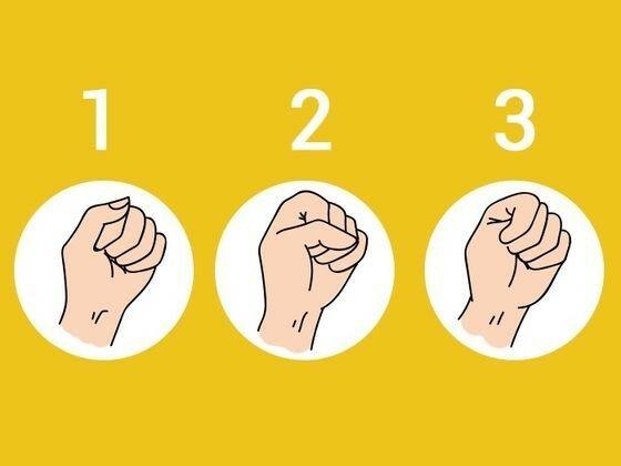 Тест: Сожми кулак и раскрой все тайны своего характера!