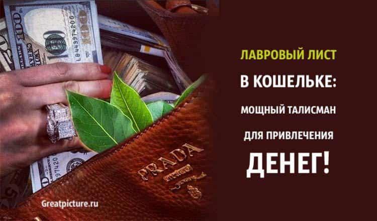 Лавровый лист в кошельке: мощный талисман для привлечения денег!