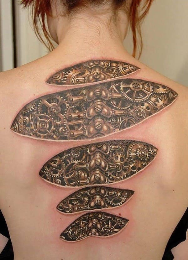 Best Realistic 3D Tattoos Design Ideas for Men And Women