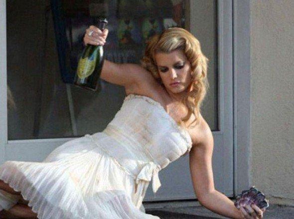 So She Got Drunk On Her Wedding Night