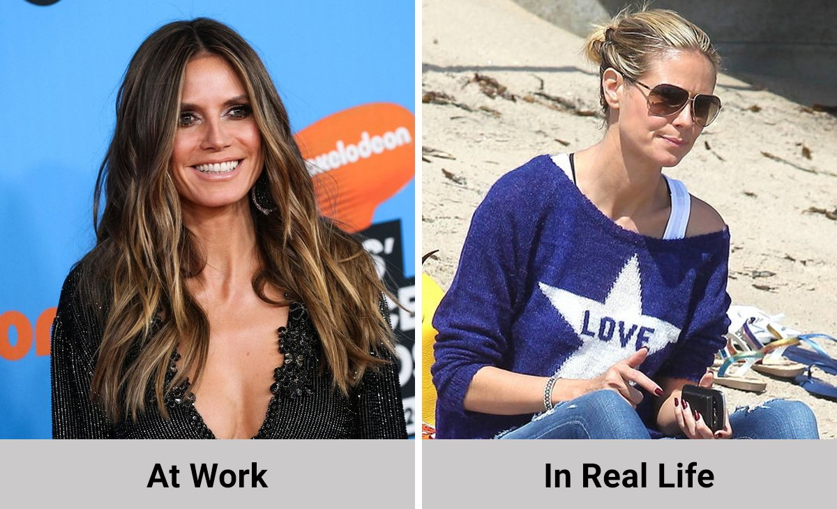This is What Famous Top Models Look Like When They are Not At Work