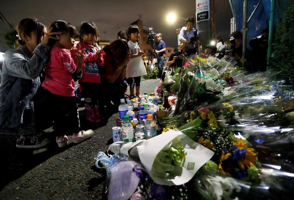 Knife-wielding man slashes schoolgirls at bus stop in Japan, killing two