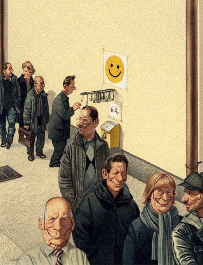30 брутальных, но честных картинок о том, что нас всех ждет в недалеком будущем