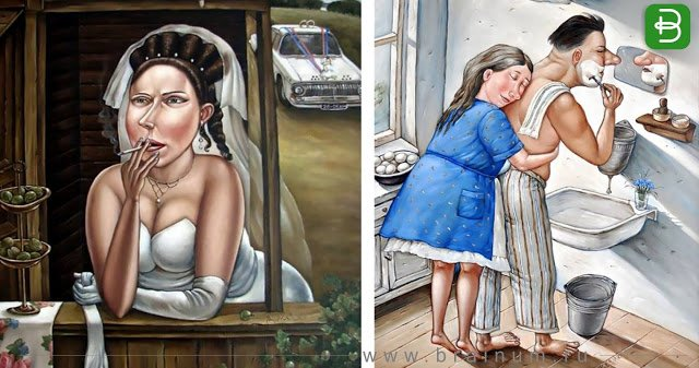 Как это было на самом деле: Художница рисует СССР таким, каким его не показывают в фильмах