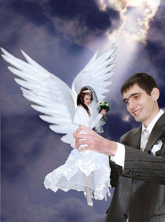 When Russian Wedding Photos Photoshopped Hilariously