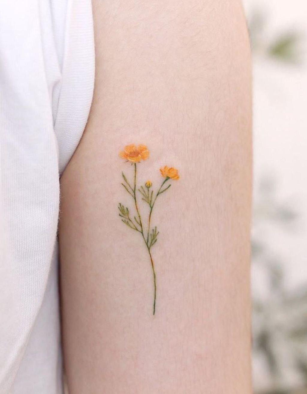Милые идеи маленьких татуировок,