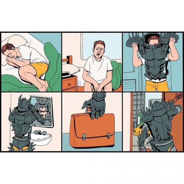 Мощные противоречивые иллюстрации, раскрывающие правду о людях и обществе