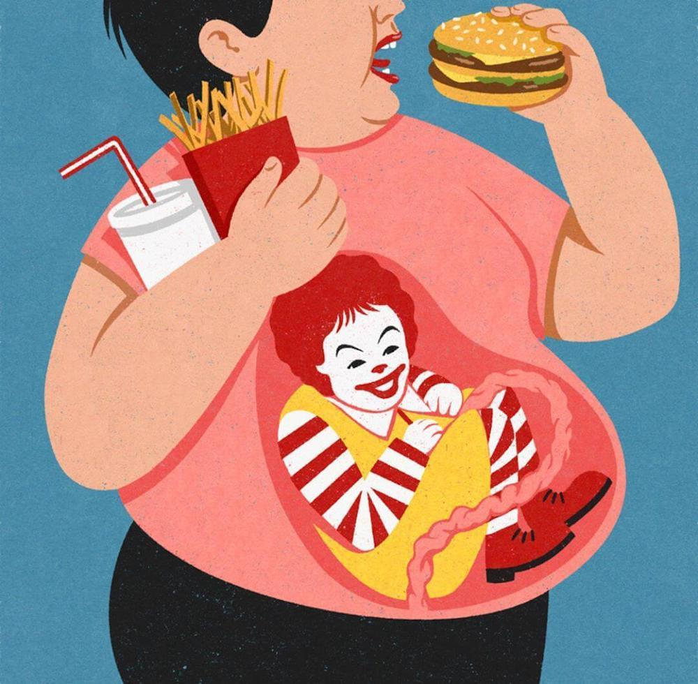 17 иллюстраций Джона Холкрофта, которые прекрасно объясняют наш мир