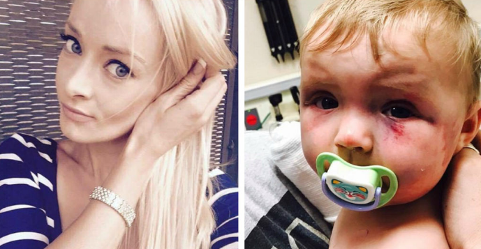 Молодая (27-летняя) мать избила младенца и даже не сядет в тюрьму! Так решил суд…