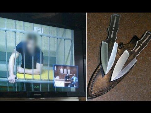 Отец изнасилованной 14-летней девочки убил насильника дочери прямо в зале суда!