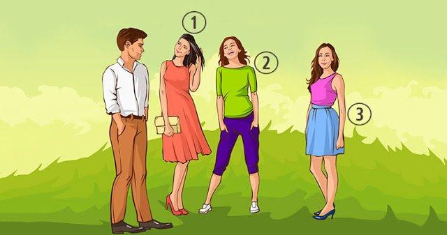 Логико-психологический тест: какая девушка нравится мужчине