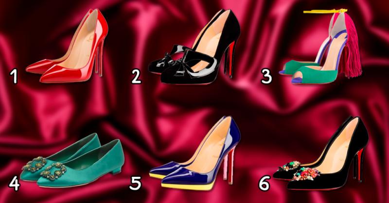 Сделайте свой выбор туфель и узнайте какая Вы женщина!