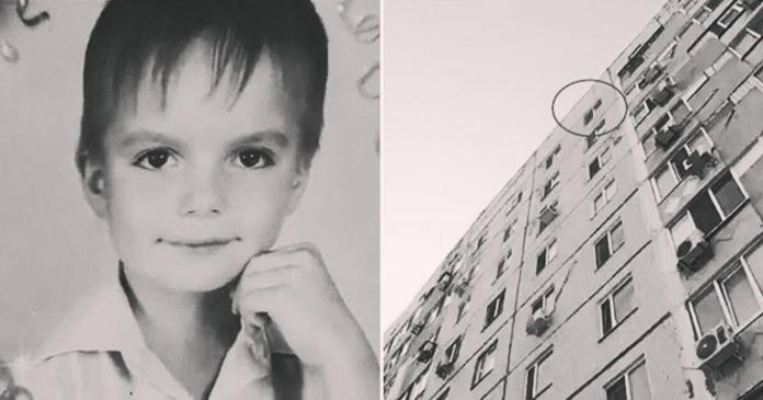 8-летний украинец выпрыгнул с окна 9 этажа, спасаясь от родителей…