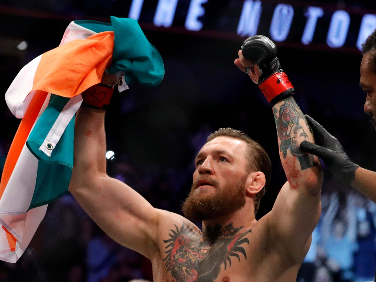 Conor McGregor announced shock retirement moments after UFC 250