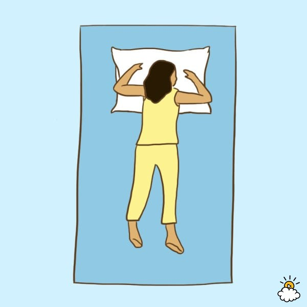 9 «здоровых» поз для сна, которые избавят вас от боли и недугов!