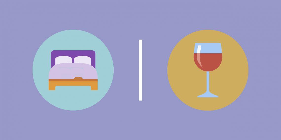 Как алкоголь влияет на сон