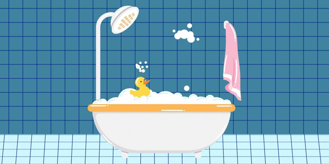 5 причин принимать ванну, а не душ