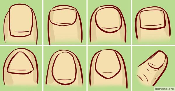 Форма ногтя расскажет всё о твоем характере