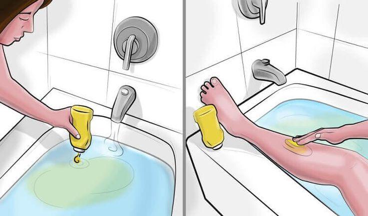 Она добавила горчицу в ванную, а потом намазала ею тело… Невероятный эффект!