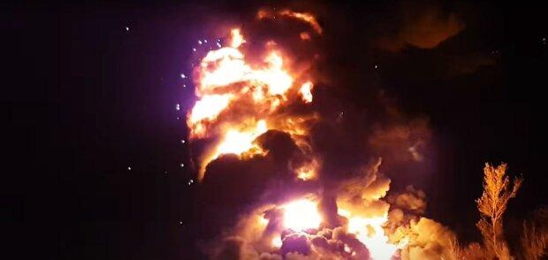 Украина дрожит: под Киевом газопровод взлетел на воздух, спасатели выбились из сил. Видео из ада