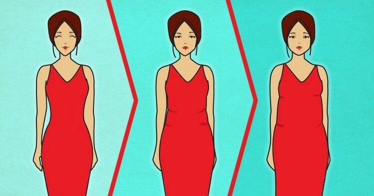 5 причин, почему мы толстеем с годами