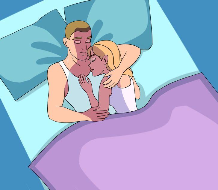 Что может рассказать о ваших отношениях поза, в которой вы спите?