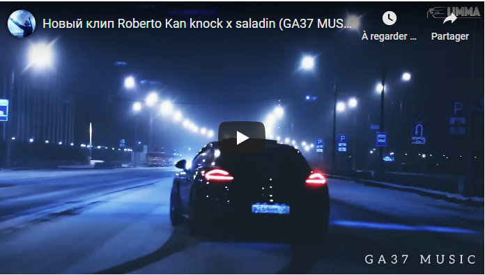 Roberto Kan knock x saladin (GA37 MUSIC NEW Video)