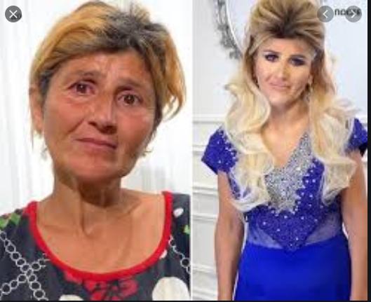 Как стилист сделал 60-летней женщине стильную стрижку и шикарный макияж, которая стала выглядеть на 20 лет моложе