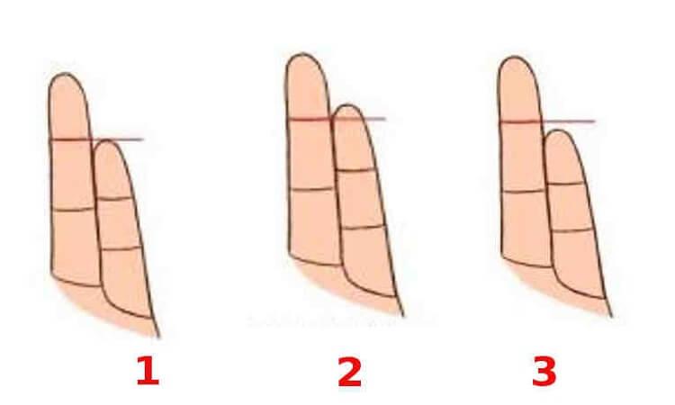 Узнайте каков человек в любви, едва взглянув на его пальцы!