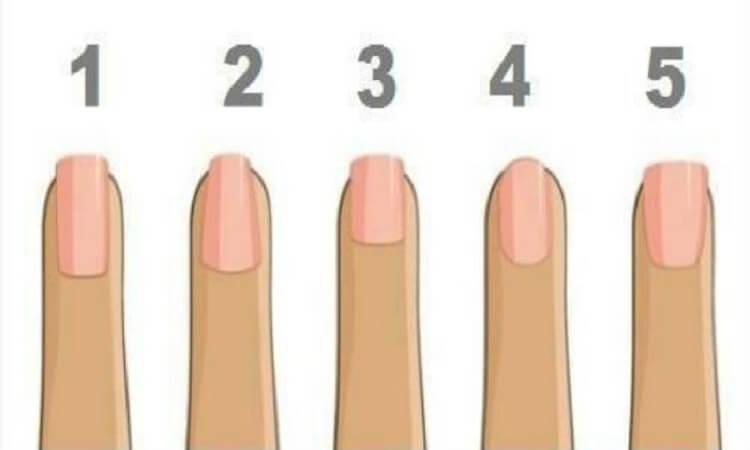 Тест: Какая у вас форма ногтей ? — Узнай о себе ! 1 7